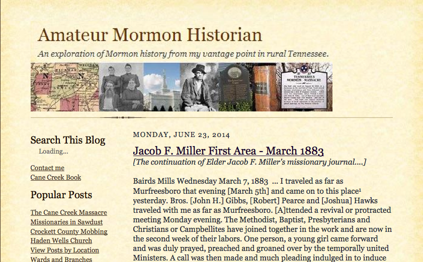 capture from Mormon Blogs Collection
